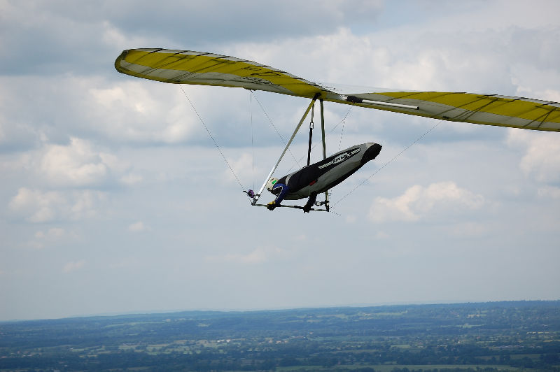 Modern Hang Glider the Airborne Climax