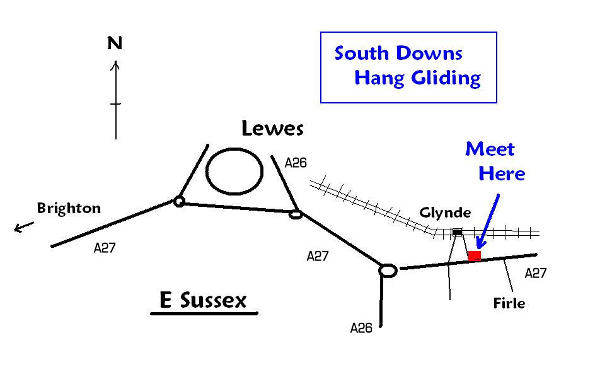south downs hang gliding